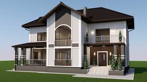 дизайн и проектирование  помещений и фасадов зданий, ладшафтный дизай - Изображение #1, Объявление #1688114