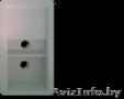 Мойка интегрированная кухонная из искусственного камня двухчашевая